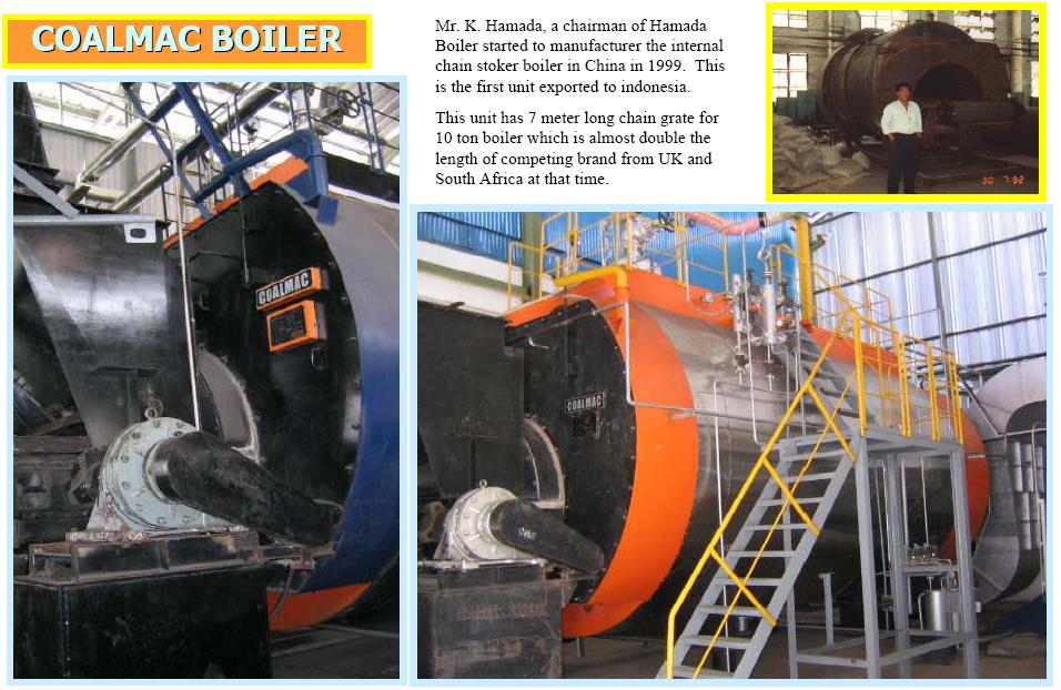 Coalmac Boiler