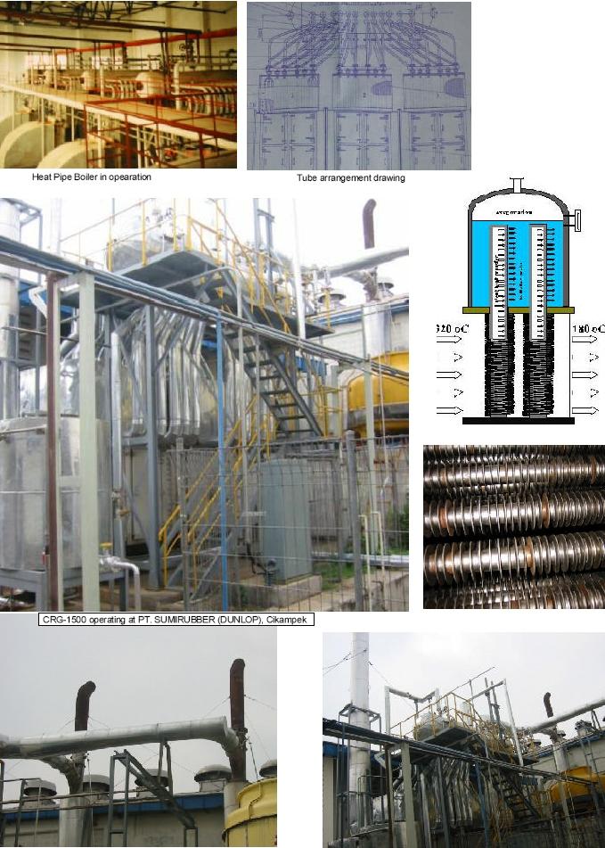 Heat Pipe Boiler
