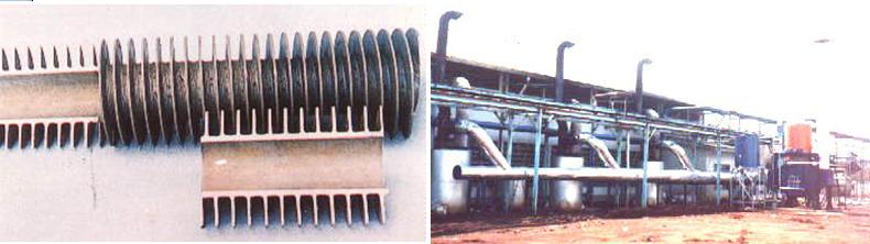 Hamada Boiler: Heat Pipe Recovery Boiler