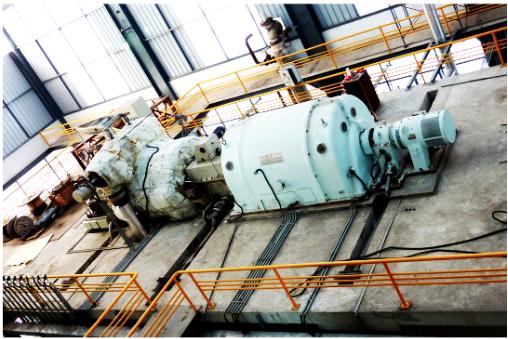 9.9MW Back Pressure Turbine